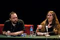 Wikimania 2009 - Jimmy Wales & Kat Walsh.jpg