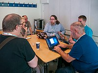Wikimania 2019 Multimedia Space, Stockholm (P1090706).jpg