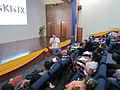 Wikimedia Venezuela Presentation FLISOL Maracaibo 2012, Offline Kiwix 1.JPG