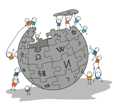 Wikipedia Community cartoon - high quality.png
