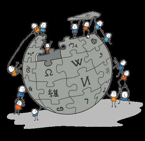 Wikipedia Community cartoon - high quality.png
