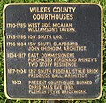 Wilkes County, Georgia Courthouses Plaque.jpg