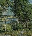 Willard L. Metcalf - A Family of Birches - Google Art Project.jpg