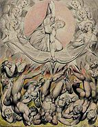 William Blake, The Casting of the Rebel Angels into Hell