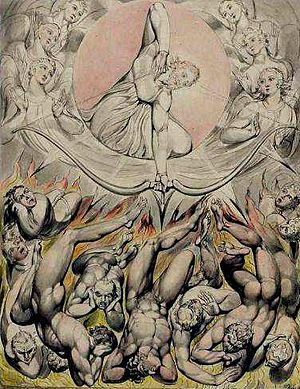 The Devil's Advocate (1997 film) - Themes evoke John Milton's Paradise Lost and its rebel angels, previously depicted by artist William Blake.