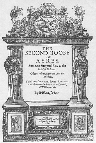 1612 in poetry - William Corkine's Second Booke of Ayres, published this year