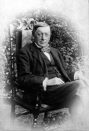 William Rolleston - William Rolleston in retirement in 1900