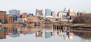 Wilmington, Delaware - Downtown Wilmington and the Christina River