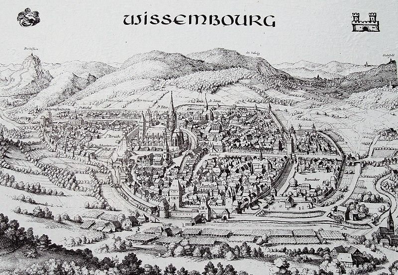 Висамбур в XVII веке