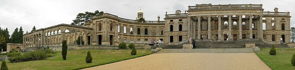 Witley court worcestershire panorama