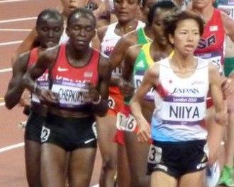 Athletics at the 2012 Summer Olympics – Women's 10,000 metres - Image: Women's 10,000 metres 2