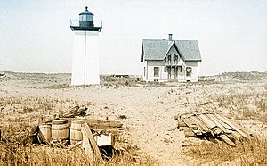 Wood End Light - US Coast Guard photo, not dated.