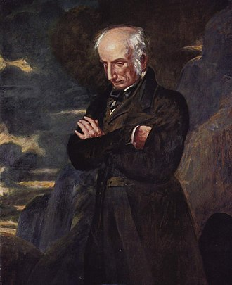 Lyric poetry - Benjamin Haydon's 1842 portrait of William Wordsworth