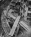 Workmen cutting up train after Beach Street wreck, July 1928.jpg