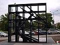 Wrocław, Rzeźba przed Bema Plaza - fotopolska.eu (127625).jpg