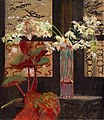 Wyczółkowski White orchids and begonia.jpg