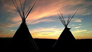 Wind River Indian Reservation - Image: Wyoming sunset