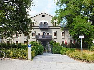 Mandlstraße street in Schwabing, Germany