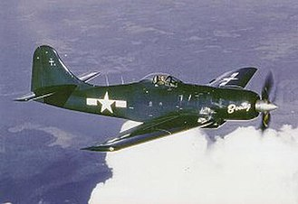 Boeing XF8B - XF8B-1 BuNo 57986 wearing overall Glossy Sea Blue livery, photographed 12 December 1946