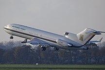 鹿特丹海牙机场-统计-XT-BFA B727 Burkina Faso (6328516101)