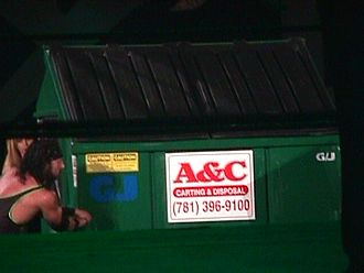 Sean Waltman - Waltman in a Dumpster match at King of the Ring 2000.