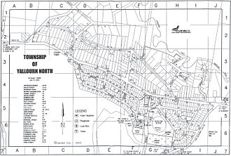 Yallourn North, Victoria - The township as it exists today