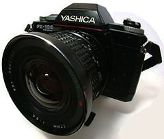 Yashica FX-103 with a Tokina 17mm lense.jpg