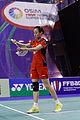 Yonex IFB 2013 - Eightfinal - Yuriko Miki - Koharu Yonemoto — Tian Qing - Zhao Yunlei 05.jpg