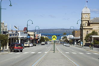 Albany, Western Australia - York Street in Albany