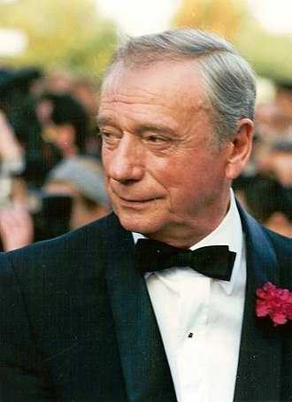 Yves Montand - Montand at the 1987 Cannes Film Festival.