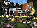 """97 Lexden Road"" Oil on Canvas 7'x11' 1994.jpg"