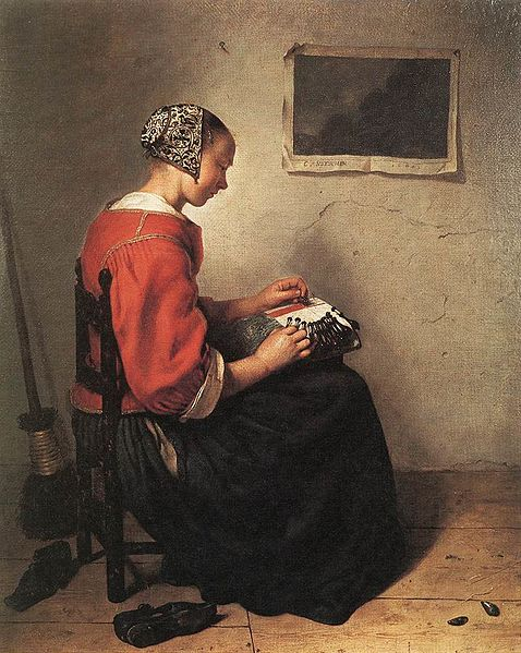"ファイル:""The Lace-Maker"" by C..."