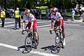 (L-R) Filippo Fortin and Natnael Berhane of Cofidis (48068786138).jpg