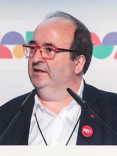 Miquel Iceta Spanish politician