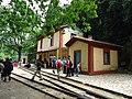 Ο σιδηροδρομικός σταθμός της Ζαχλωρούς.JPG