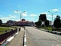 Вуліца Замкавая. Від на друкарню і пажарную часць ... Zamkovaya Street. View of the typography and the fire department - panoramio.jpg