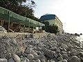 Гостиница Ассоль и прибрежное кафе. Симеиз. Крым. Сентябрь 2012 - panoramio.jpg
