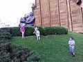 Золотые Ворота и памятник Ярославу Мудрому. Киев.jpg
