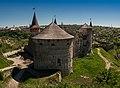 Кам'янець-Подільська фортеця. Вежі. Панорама.jpg