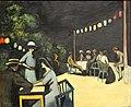 Кузнецов Н.Е. 1876-1970 Кафе вечером. На Рижском взморье.jpg