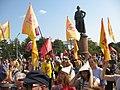 Митинг 2 сентября 2018 пенсии Суворовская площадь (Москва) 13.jpg