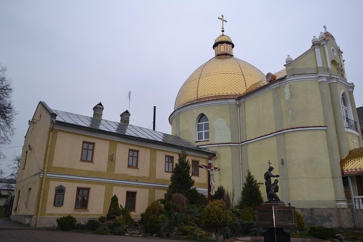 Монастир святих Апостолів Петра і Павла.Церква Петра і Павла та келії.JPG