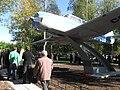 Открытие нового (четвёртого) памятника-самолёта в Талагах 31.08.2012 - panoramio.jpg