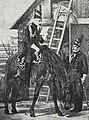 Рисунок к статье «Конно-егеря». Конно-егерских полков офицер с 1789 по 1792 год и рядовой с 1789 по 1796 год. ВЭС (СПб, 1911-1915).jpg