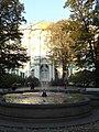 Сад с фонтаном у Зимнего дворца 5.JPG