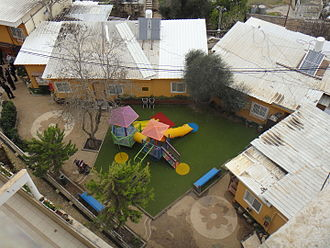 Tel Rumeida - Playground at Tel Rumeida