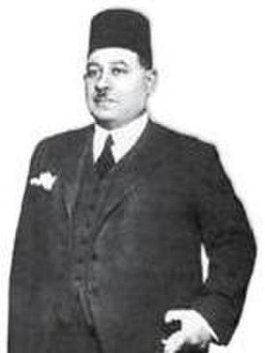 Ahmad Mahir Pasha - Portrrait of Ahmad Mahir Pasha