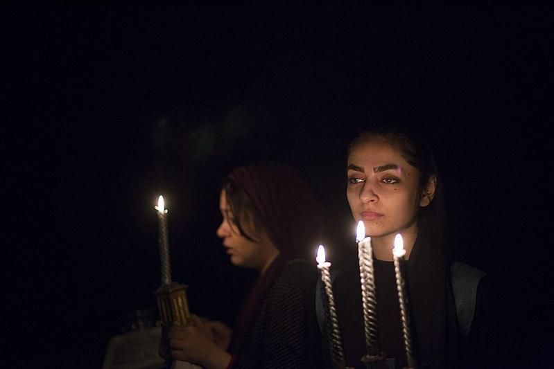 File:تئاتر باغ وحش شیشه ای به کارگردانی محمد حسینی در قم به روی صحنه رفت - عکاس- مصطفی معراجی 48.jpg
