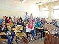 مجموعة عمل الطلبة ضمن برنامج اللغة الروسية في الجامعة الاردنية 01.JPG
