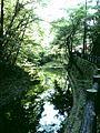 箕面滝道・緑の水面 - panoramio.jpg